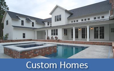 We Build Custom Homes
